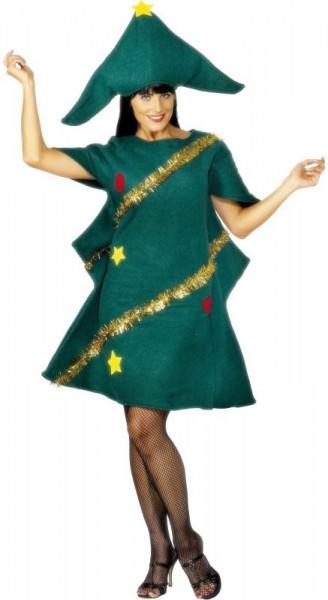 Weihnachtsliches Tannenbaum Kostüm