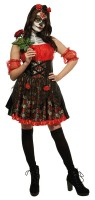 Tag der Toten Rosen Kleid für Damen