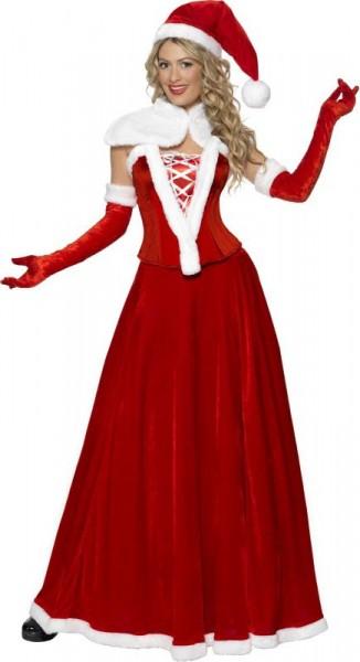 Mrs Santa Claudia Costume Premium