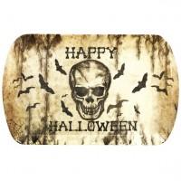 Halloween Schädel Tablett 39x24cm