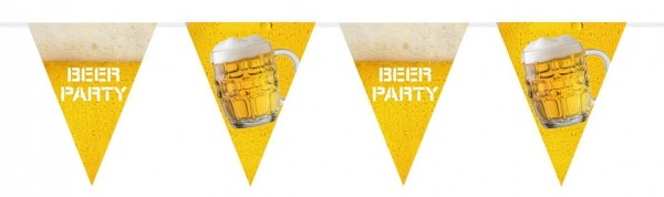Beer festival pennant chain 6m