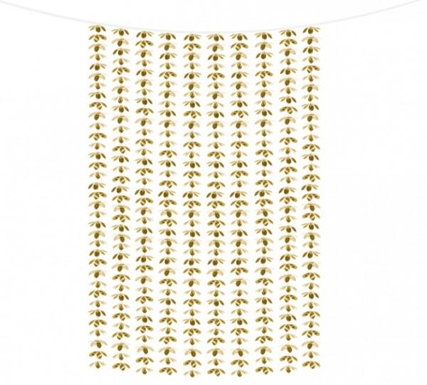 Goldener Blütenregen Vorhang 1 x 2,1m