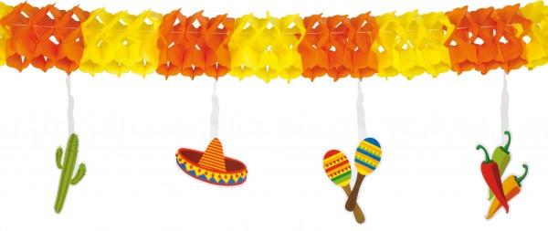 Mexiko Fiesta Girlande 4m