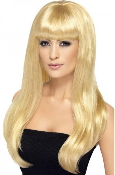Blonde Schönheit Leyla Perücke