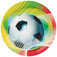 8 Partytime Fußball Teller