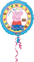 Peppa Wutz Happy Birthday Folienballon 43cm