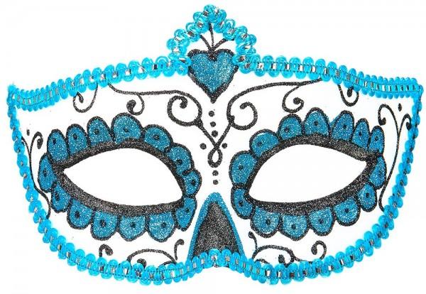 Masque pour les yeux scintillant Day of the Dead ester