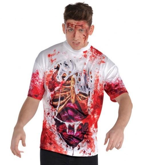Camicia da uomo Zombie Splatter
