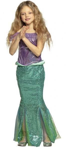 Meerjungfrau Kostüm Marielle für Mädchen
