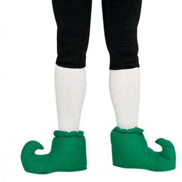Grüne Elfen Schuhe