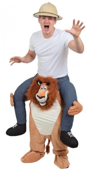 Alessio lion piggyback costume