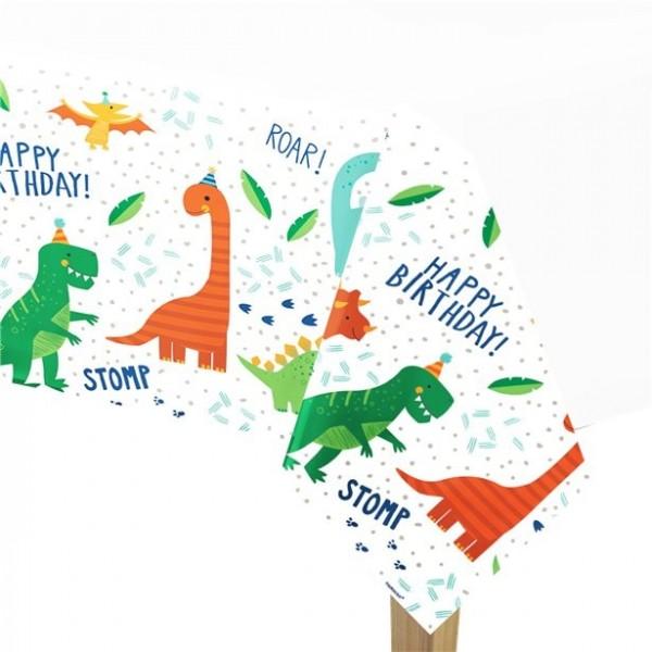 Nappe anniversaire Dino party 260cm