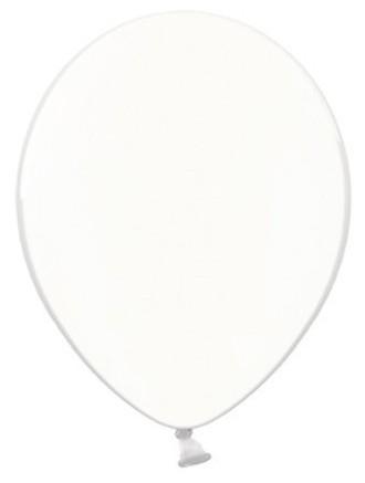 100 Transparente Partystar Ballons 23cm