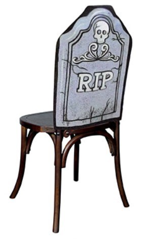 RIP Stuhlhusse Halloween 61 x 48cm