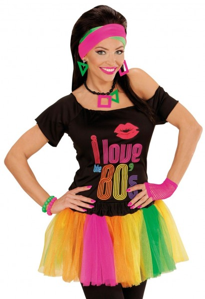 Colorful neon tutu