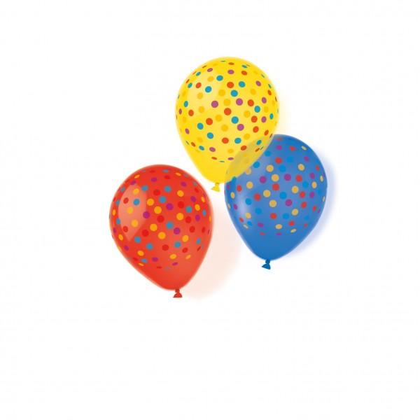 10 Ballons Konfetti Party 28cm