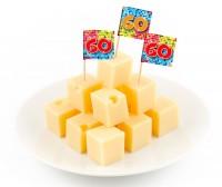 24 Groovy 60th Birthday Spieße 6cm