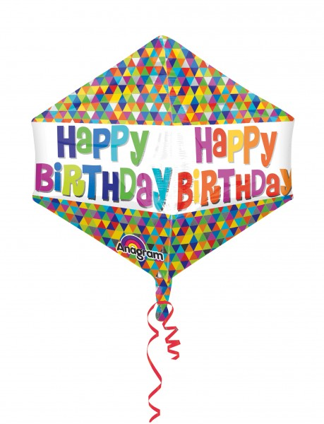 Ballon d'anniversaire Coloursplash