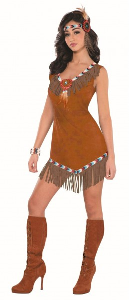 Sexy Native American Ladies Costume Jane