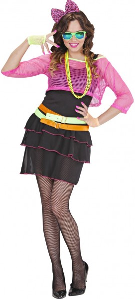Trendy 80s girly costume