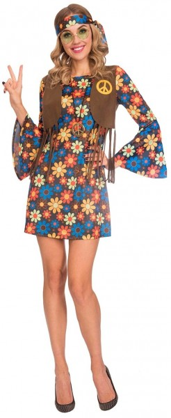70s hippie girl ladies costume
