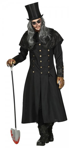 Düsterer Totengräber Mantel für Herren