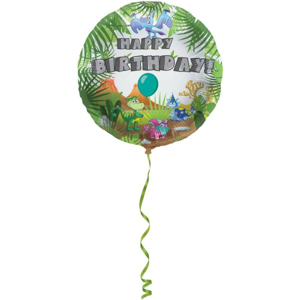 Baby Dino birthday balloon 45cm
