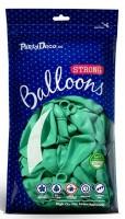 10 Partystar Luftballons mint 27cm