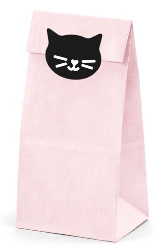 6 sachets cadeaux chat Kiki