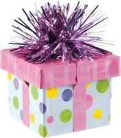 Ballongewicht bunte Geschenkschachtel 170g