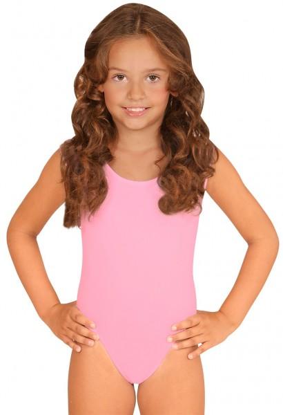 Body rosa clásico para niños