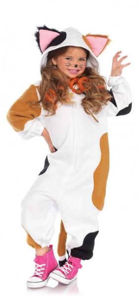 Flecki Katzen Overall Kostüm für Kinder