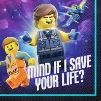 16 Lego Movie 2 Servietten 25cm
