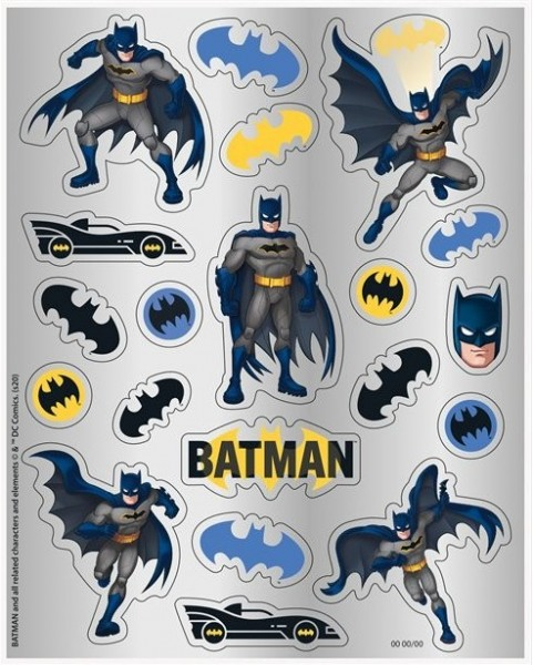 4 Batman Hero Sticker