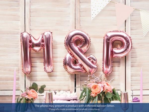 Balon foliowy W różowe złoto 35cm