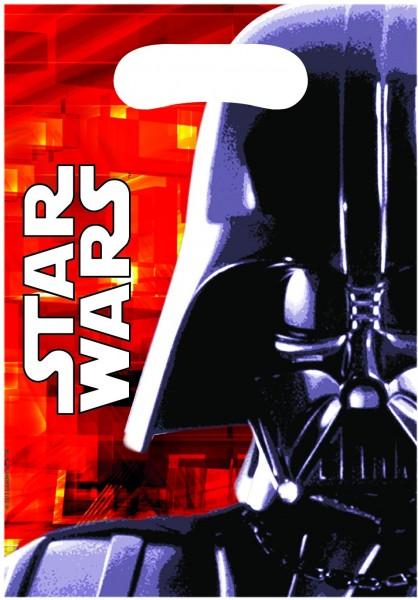 6 Star Wars Galaxy Darth Vader Geschenktüten