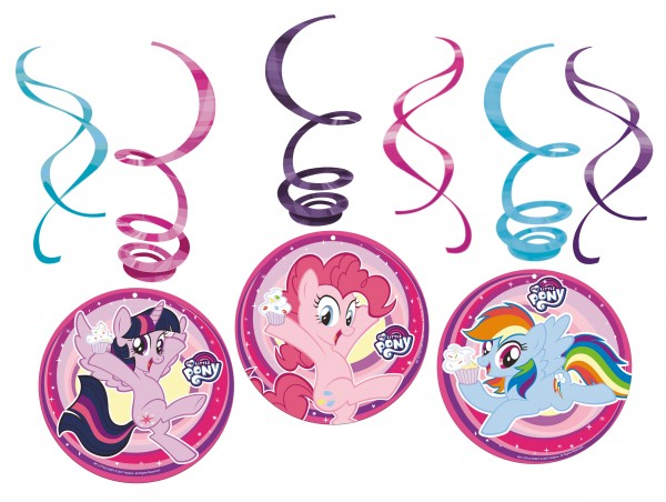 6 Dekospiralen My Little Pony
