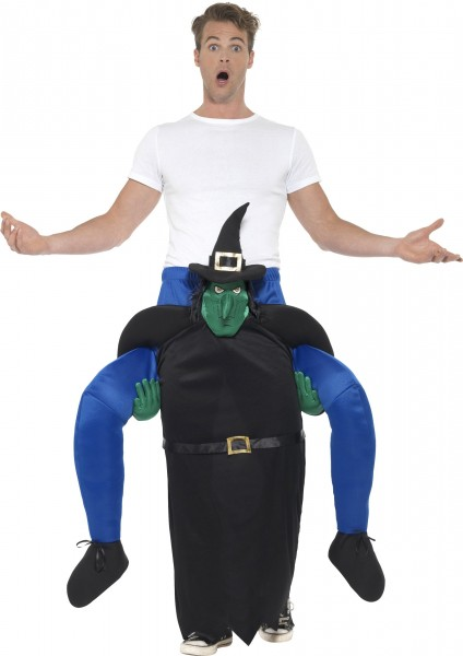 Walpurgis witches piggyback costume