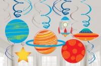 12 Space Party Dekospiralen