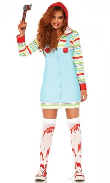 Horror babypop dames kostuum