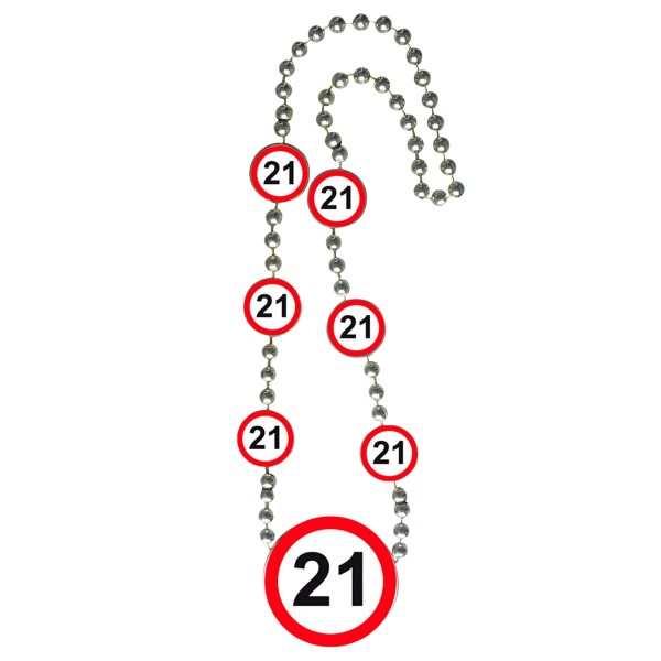 Segnale stradale di compleanno 21st catena di partito