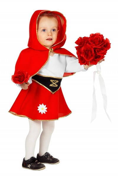Rotkäppchen Kostüm Für Kleinkinder