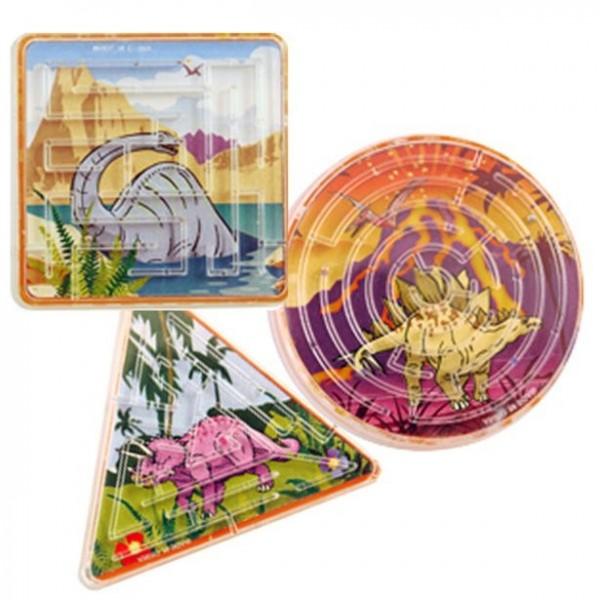 Dinosaurier Labyrinth-Spiel Mitgebsel