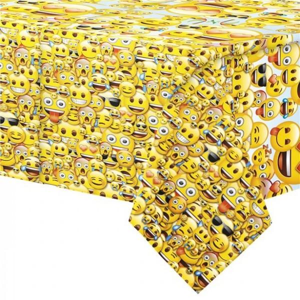 Emoji World Tischdecke 1,4 x 2,1m