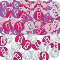 13. Geburtstag Streudeko pink 14g