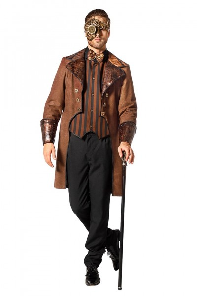edles steampunk kostum fur herren