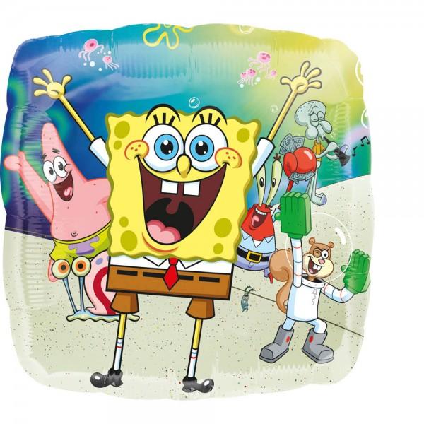 Folienballon Spongebob and friends 43cm