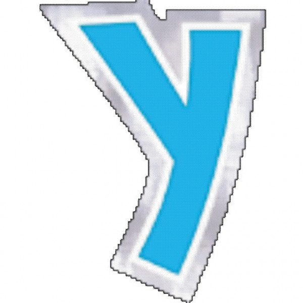 48 balloon stickers letter Y