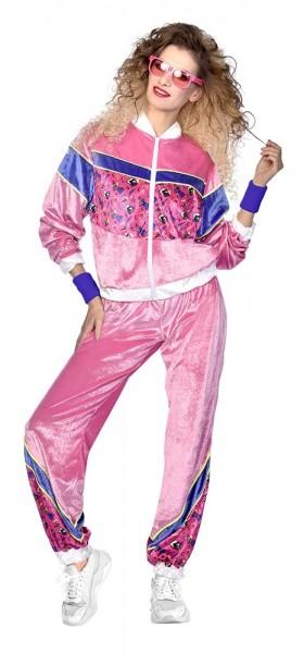 Disfraz chándal retro 80s