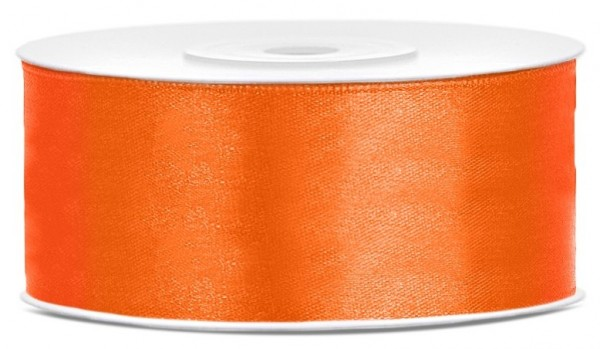 Nastro regalo in raso Kent Orange 25m